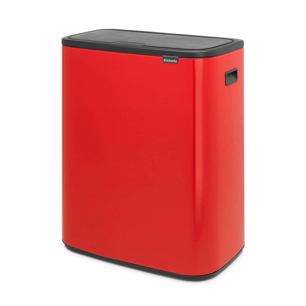 Brabantia Touch Bin 30 Liter Afvalemmer.Brabantia Bo Touch Bin Afvalemmer 2 X 30 Liter Wehkamp