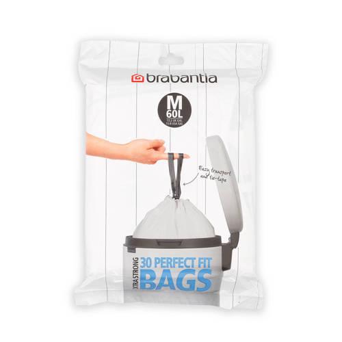 Brabantia 30 afvalzakken, code m 60 liter kopen
