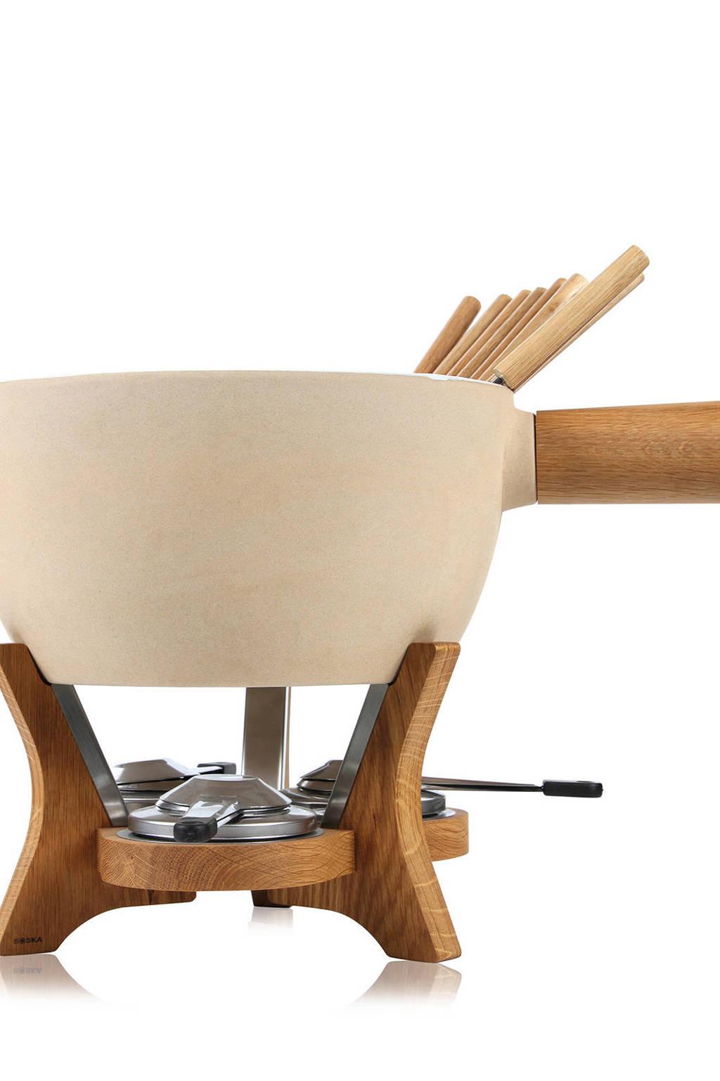 Boska Holland Cheesewares party fondue Mr. Big, Ecru