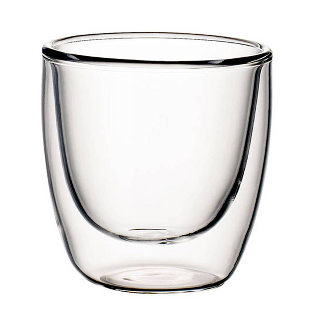 Villeroy & Boch Artesano Hot Beverages dubbelwandig glas - espresso (set van 2), Transparant