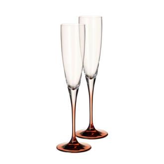 Manufacture champagneglas (set van 2)