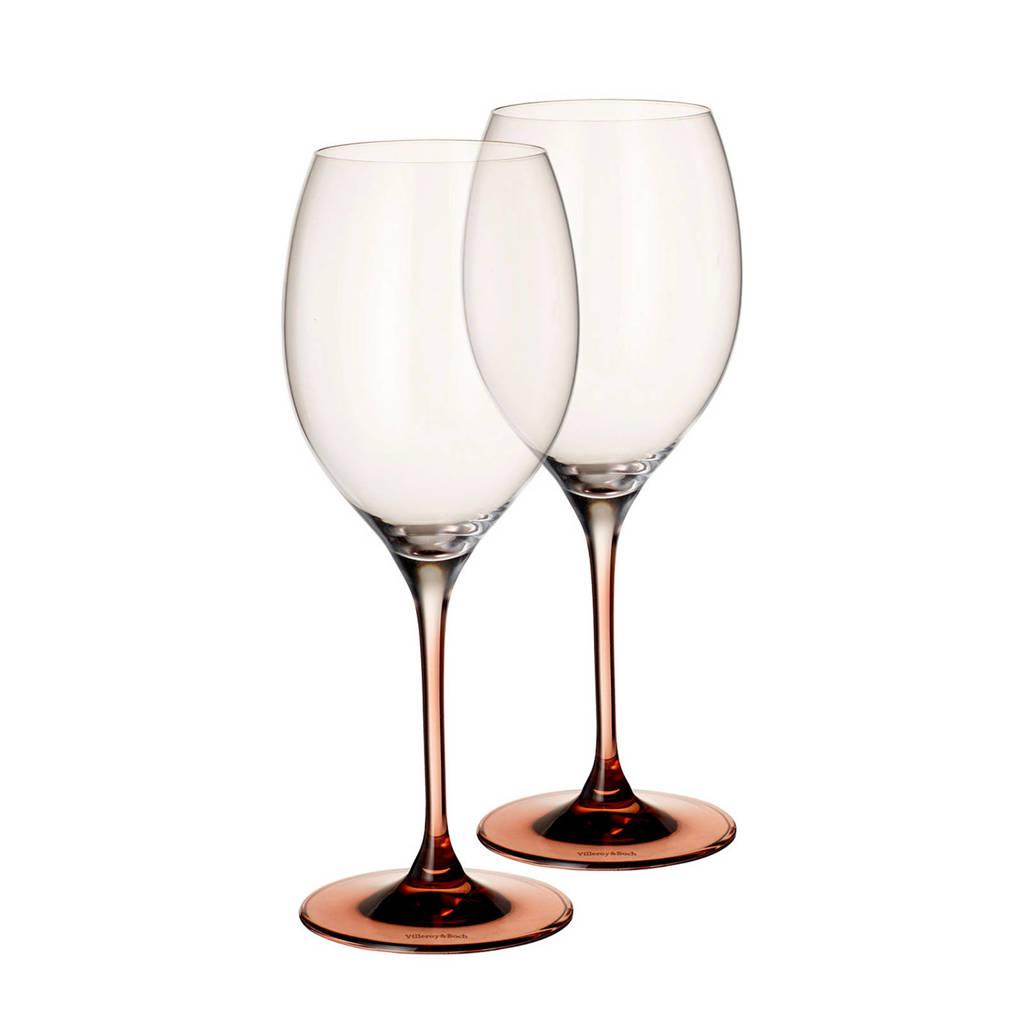 Villeroy & Boch Manufacture wijnglas - bordeaux (set van 2), Transparant/bruin