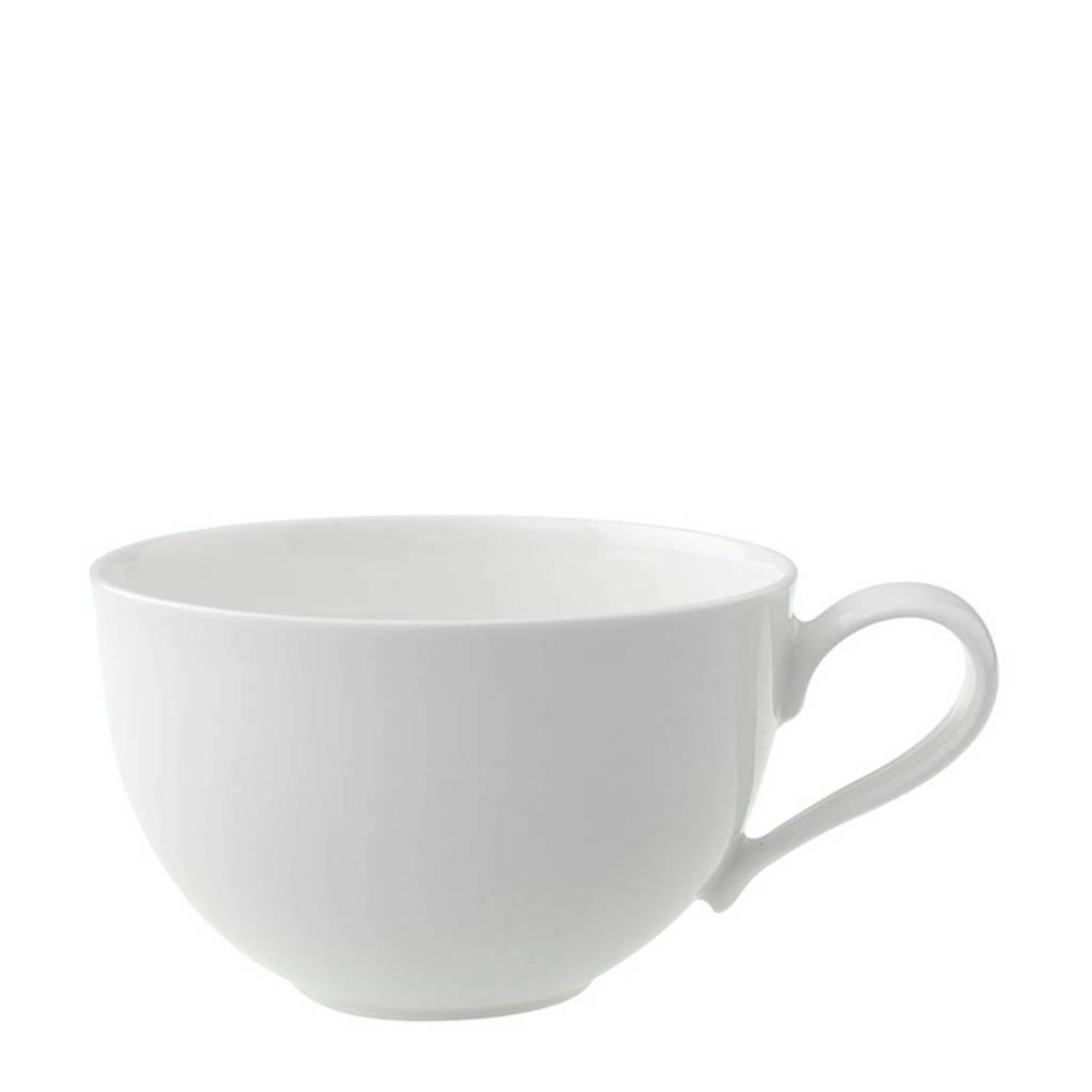 Villeroy & Boch ontbijtmok (Ø11 cm), Wit