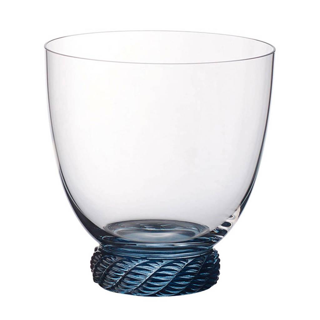 Villeroy & Boch Montauk waterglas - aqua (470 ml), Transparant/Turquoise