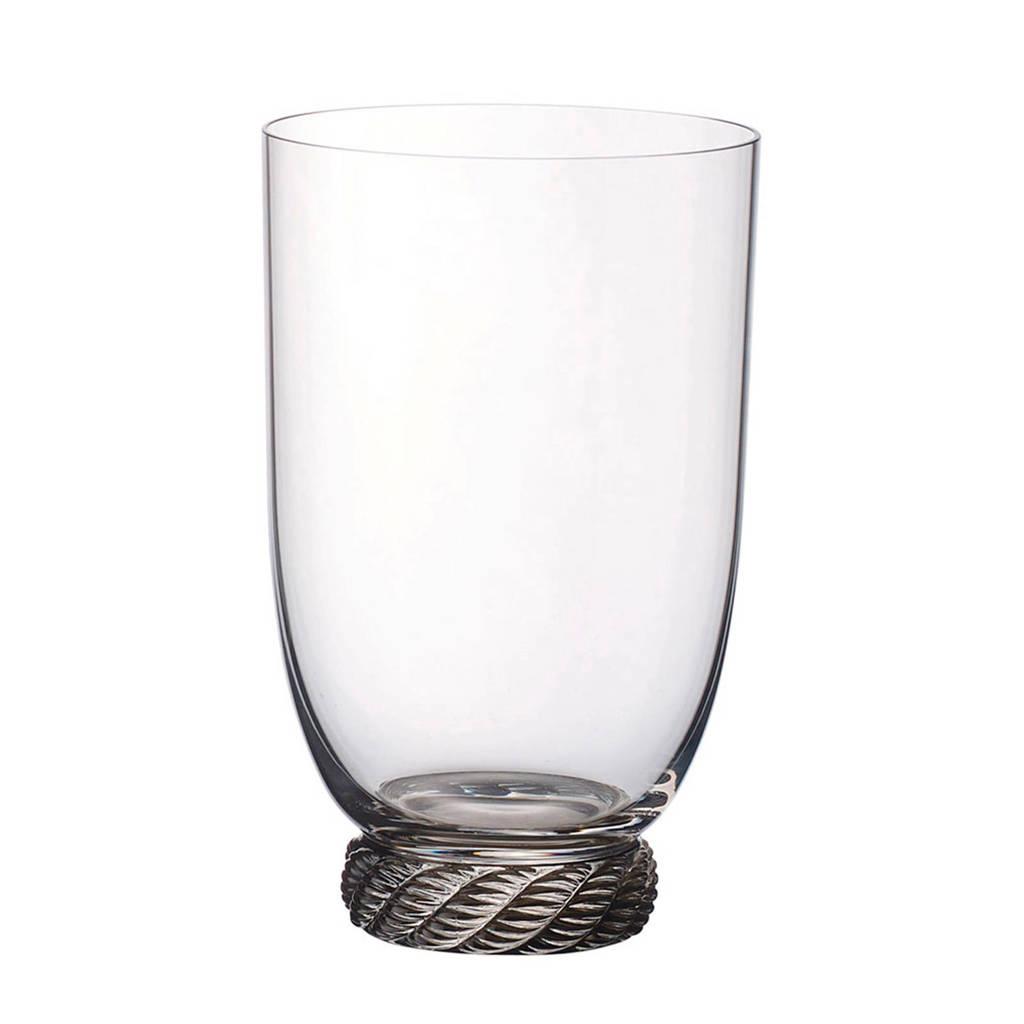 Villeroy & Boch Montauk waterglas - sand (560 ml), Transparant/Beige