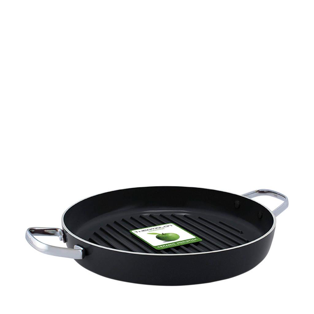 Greenpan grillpan, 28 cm, Zwart