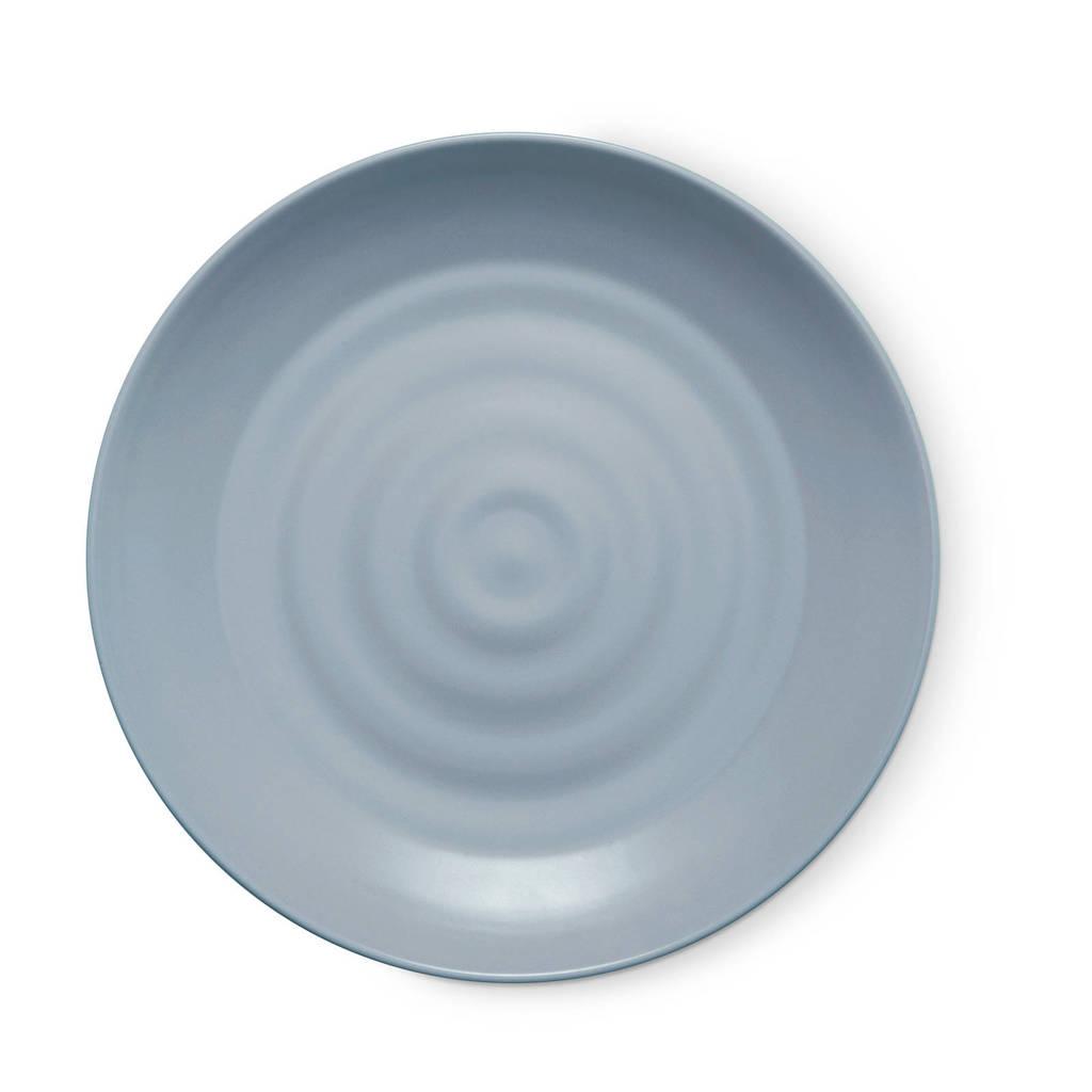 Miljuschka Mil & Match dinerbord (Ø28 cm), Blauw