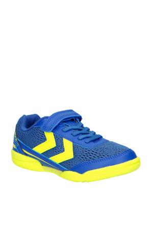 Root Jr 30 VC  voetbalschoenen kobaltblauw/geel