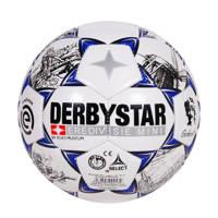 Derbystar   voetbal mini Eredivisie 19/20 maat 1, Wit/blauw/zwart
