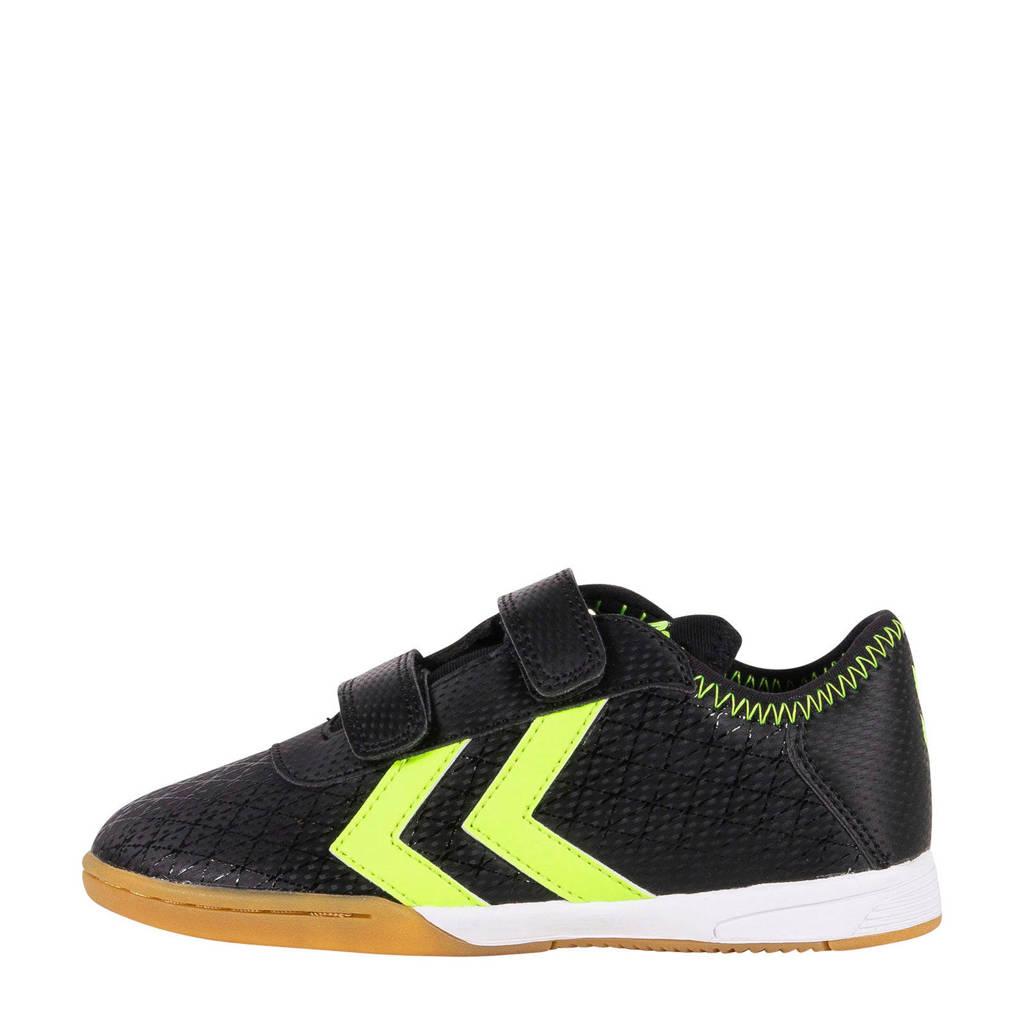 hummel  Spirit Jr. in Spirit Jr. indoor voetbalschoenen zwart/geel, Zwart/geel
