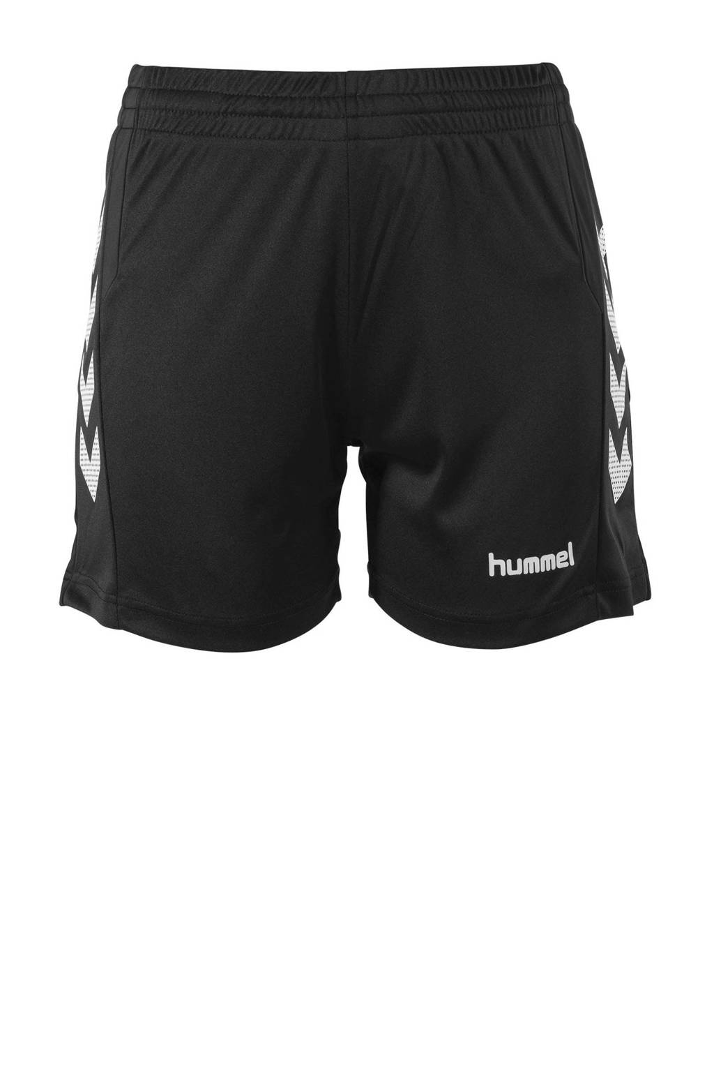 hummel sportshort Aarhus zwart/wit, Zwart/wit