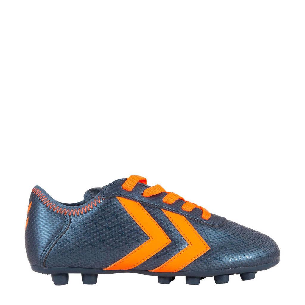 hummel  Spirit Jr fg Spirit Jr fg voetbalschoenen blauw/oranje, Blauw/oranje