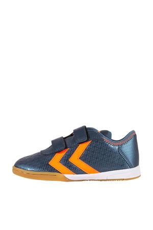 Spirit Jr. in Spirit Jr. indoor voetbalschoenen blauw/oranje