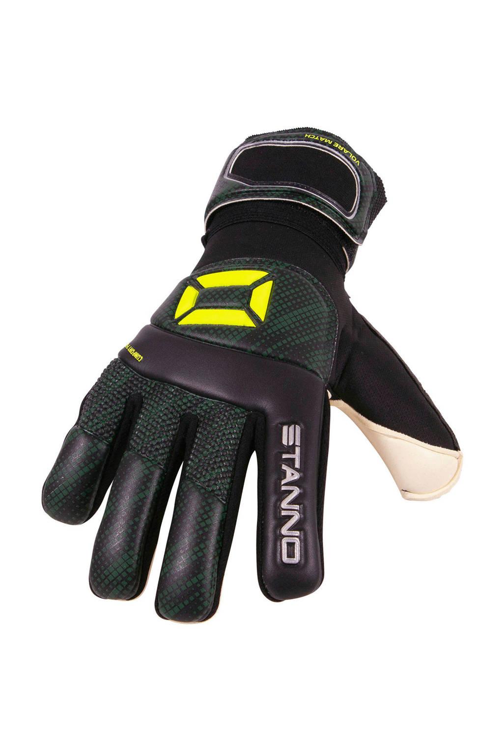 Stanno   keepershandschoenen Volare Match zwart/geel, Zwart/geel/wit