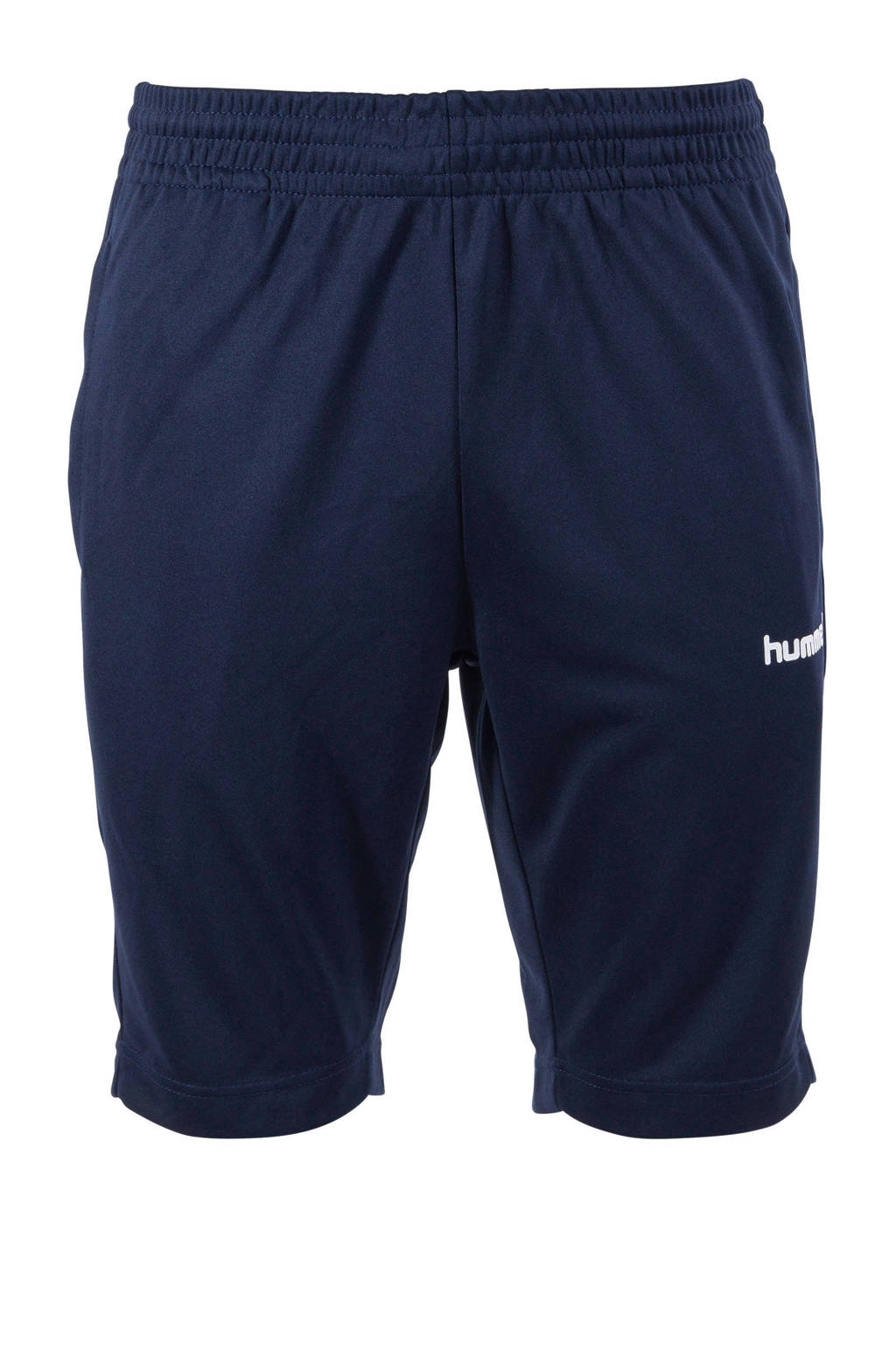 hummel Senior  voetbalshort donkerblauw, Donkerblauw