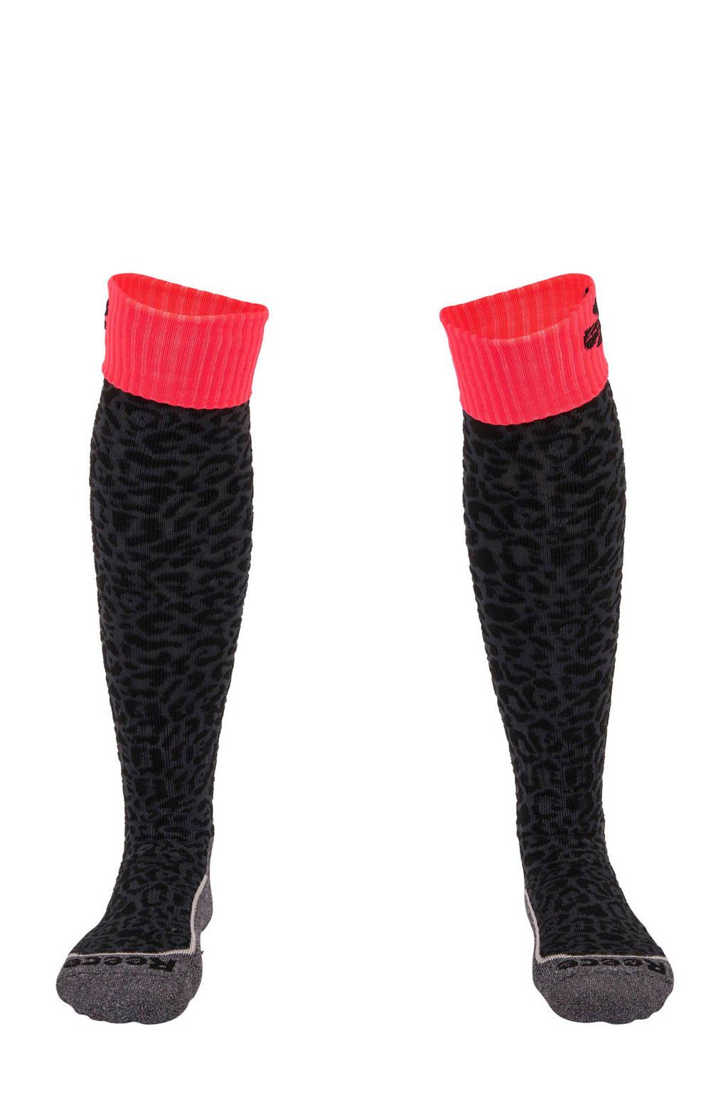 Reece Australia   sportsokken Ashford zwart, Zwart/roze