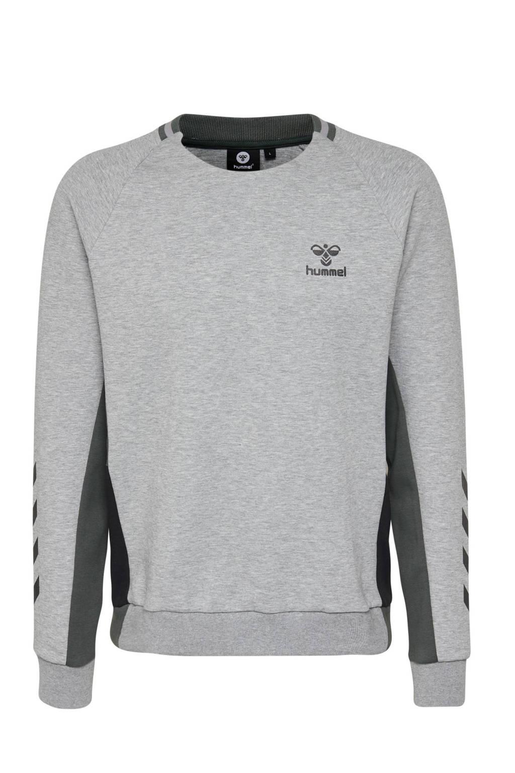 hummel   sportsweater grijs, Grijs