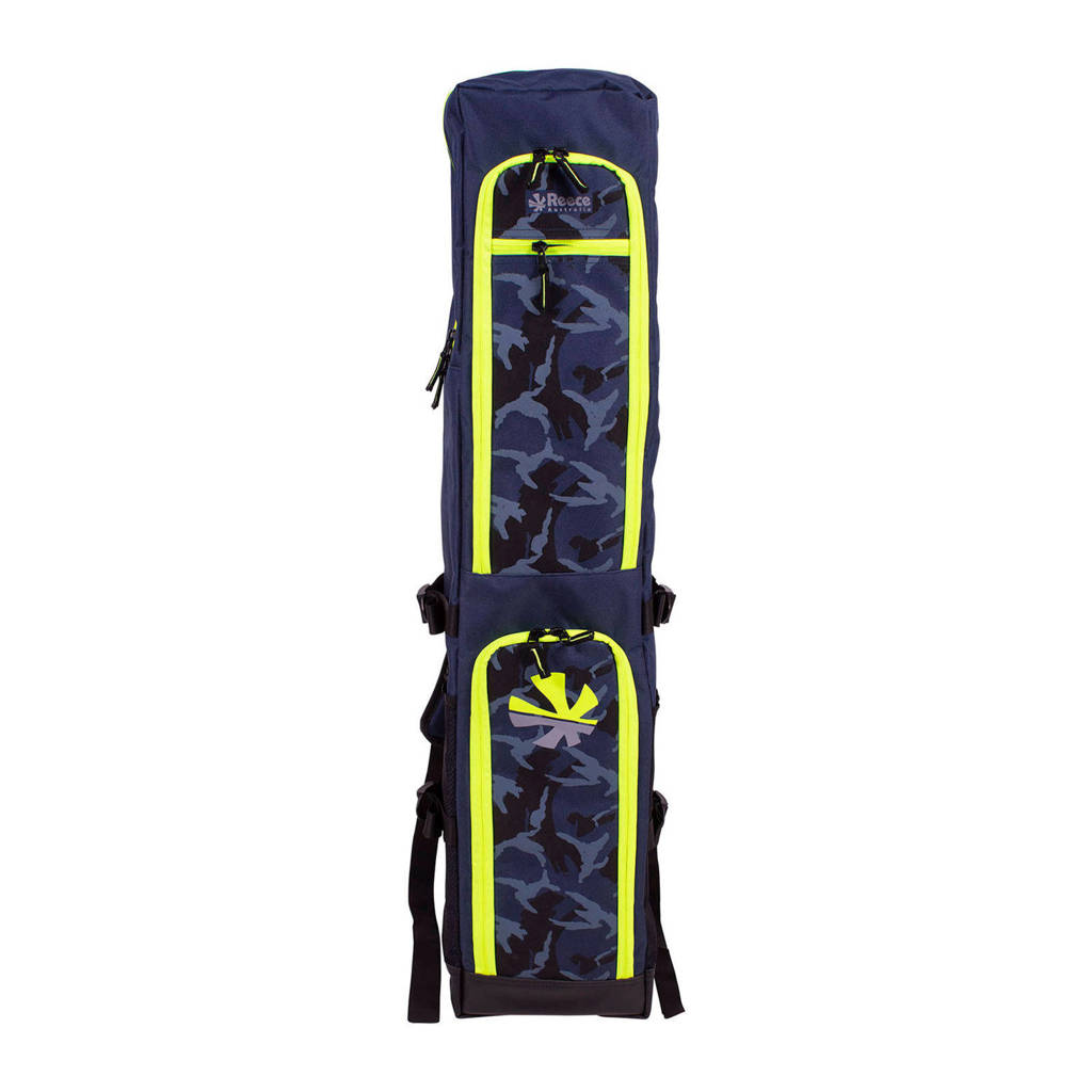 Reece Australia   Junior Stickbag - hockeytas, Donkerblauw/geel