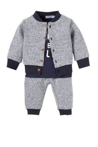 baby set longsleeve + joggingbroek + vest