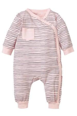 B.E.S.S newborn baby gestreept boxpak roze