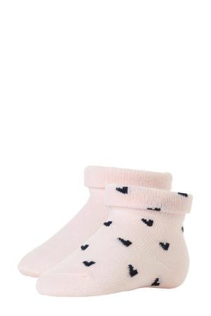 B.E.S.S newborn baby sokken - set van 2