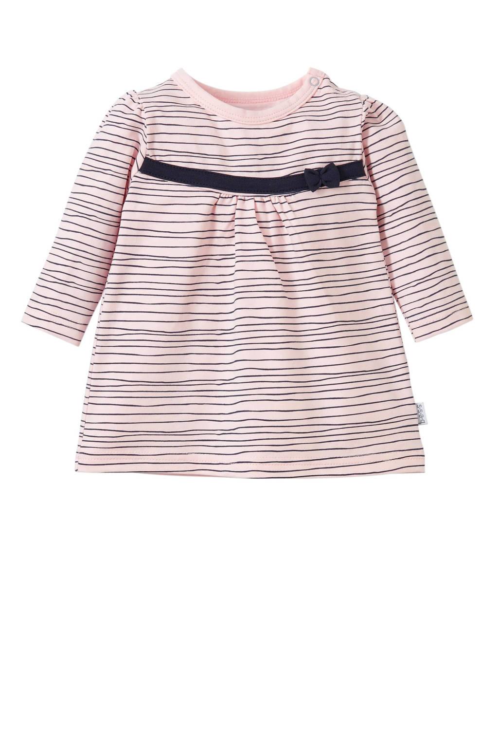 B.E.S.S newborn baby jurk, Lichtroze