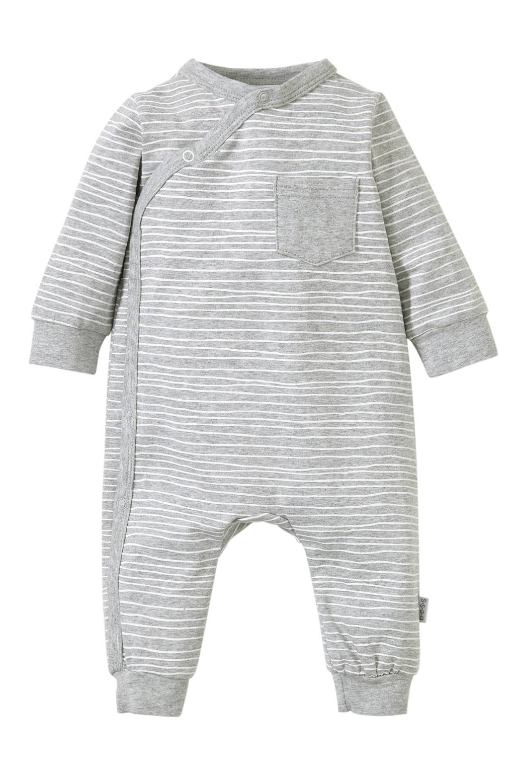 B.E.S.S newborn baby boxpak, Grijs/wit