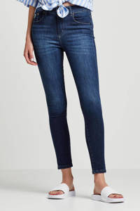 Lois high waist skinny jeans dark denim, Dark denim