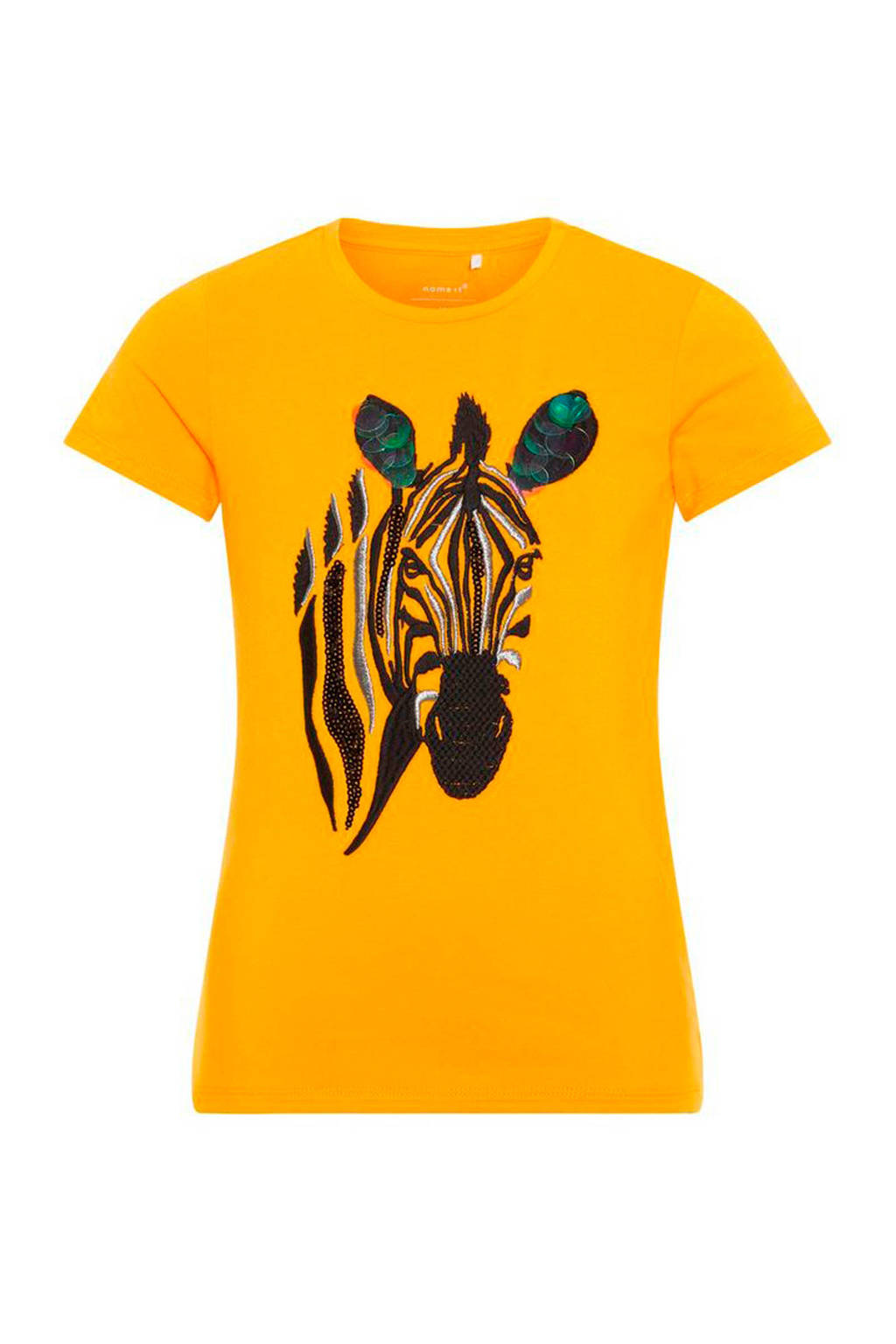 name it T-shirt Debra geel, Geel