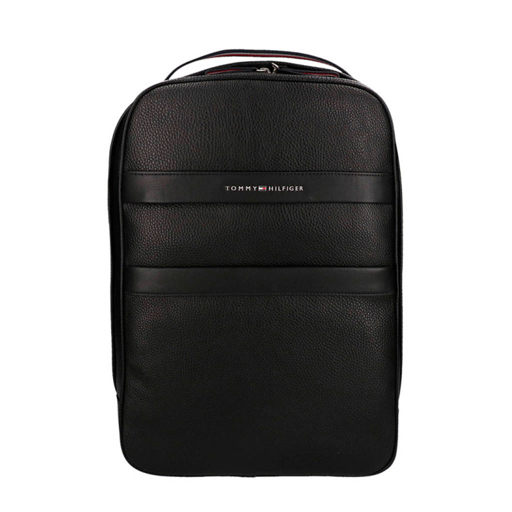 Tommy Hilfiger   rugzak TH BUSINESS BACKPACK zwart, Zwart