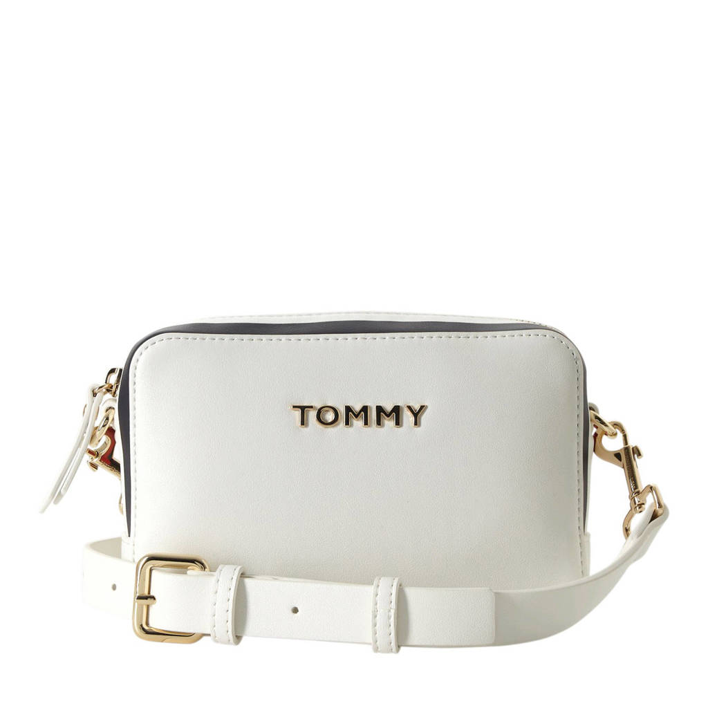 Tommy Hilfiger   crossbody tas TH Corporate Crossover wit, Wit