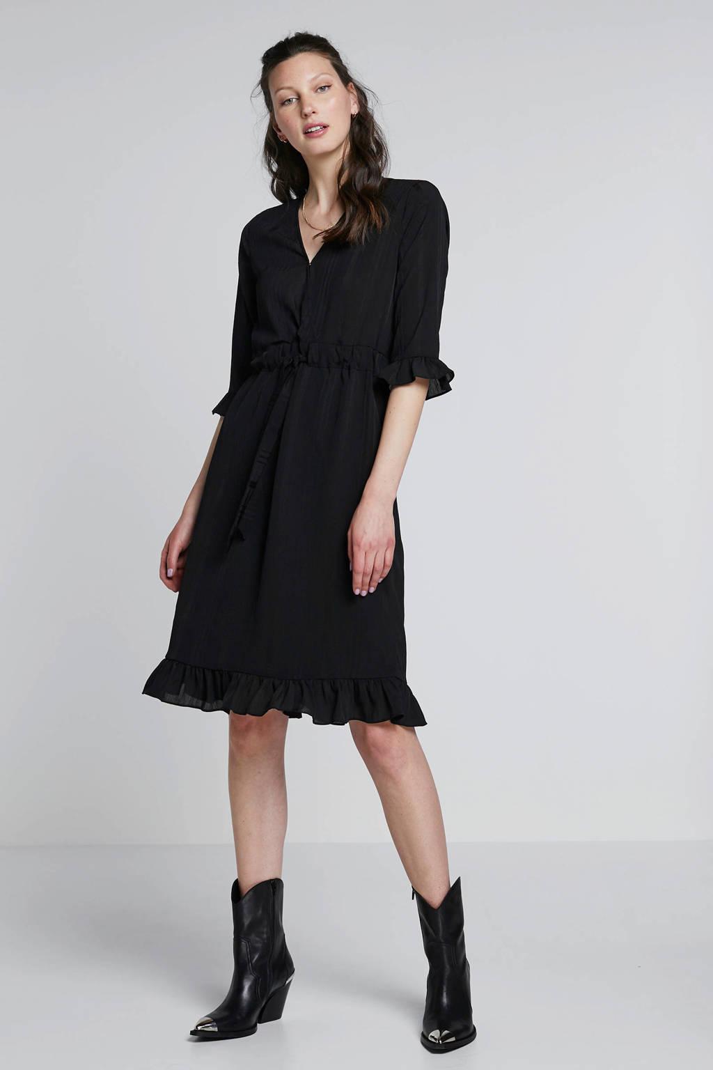 NA-KD jurk zwart, Zwart