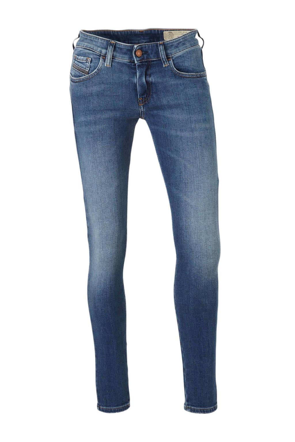 Diesel low waist super skinny jeans Slandy blauw, 32