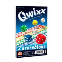 White Goblin Games Qwixx Score blocks dobbelspel