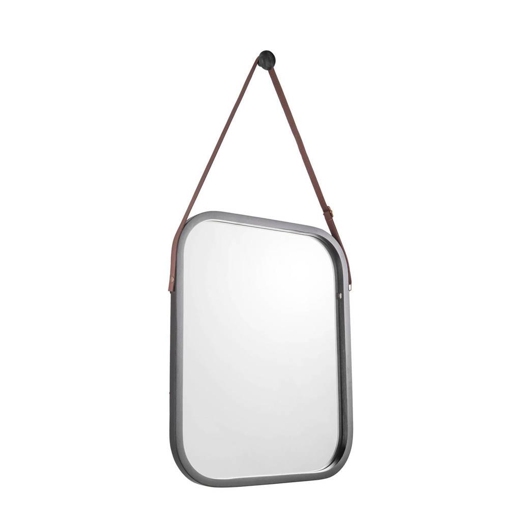 pt, wandspiegel Idyllic   (40,5x33 cm), Zwart