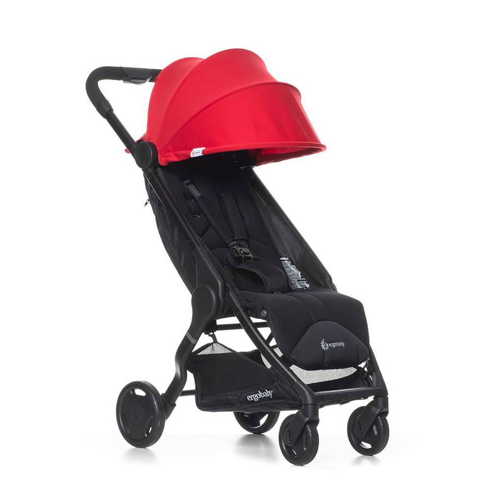 Ergobaby Metro compact buggy rood, Rood/zwart