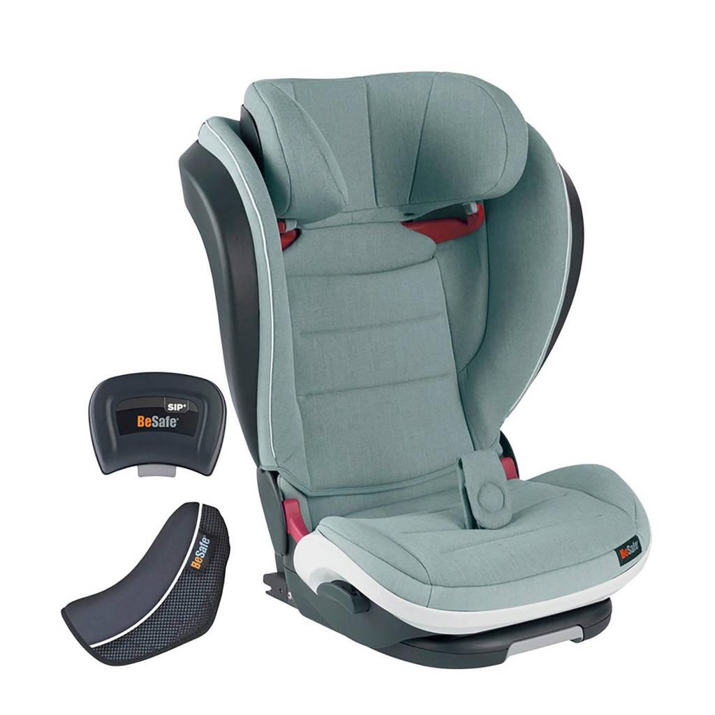 BeSafe iZi Flex Fix i-Size autostoel zeegroen, Sea green melange