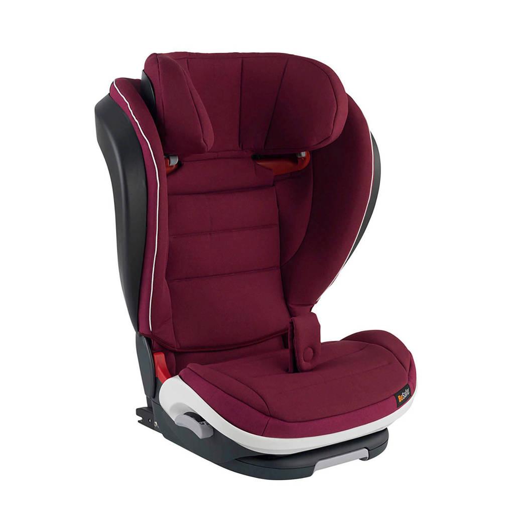 BeSafe iZi Flex Fix i-Size autostoel burgundy, Burgundy Melange