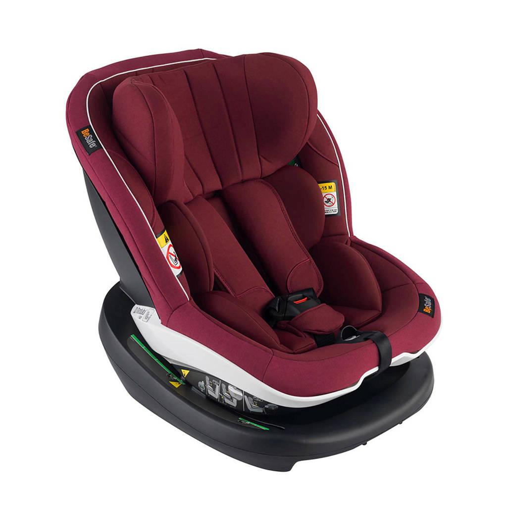 BeSafe iZi Modular i-Size autostoel burgundy, Burgundy Melange