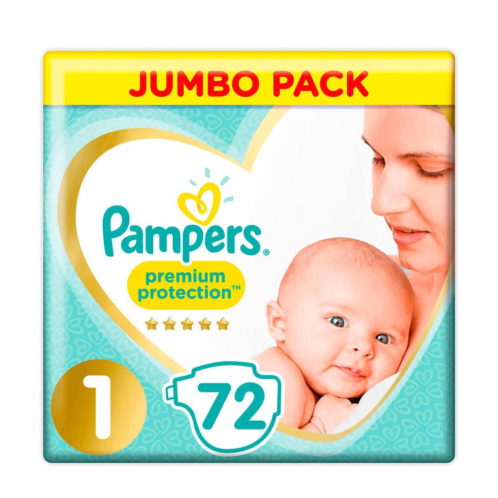 Pampers Premium Protection maat 1 (2-5 kg) 72 luiers