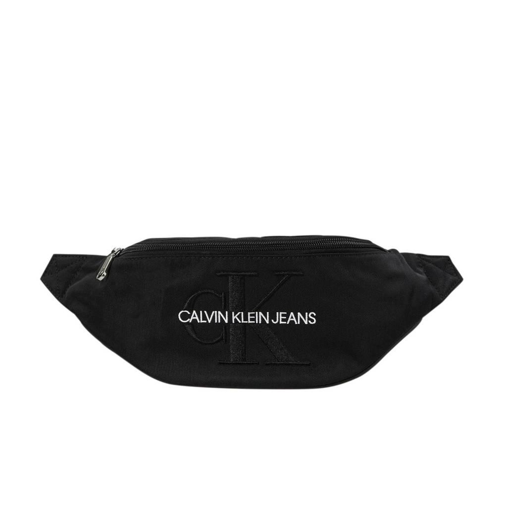 Calvin Klein Jeans   heuptas MONOGRAM NYLON STREET PACK zwart, Zwart