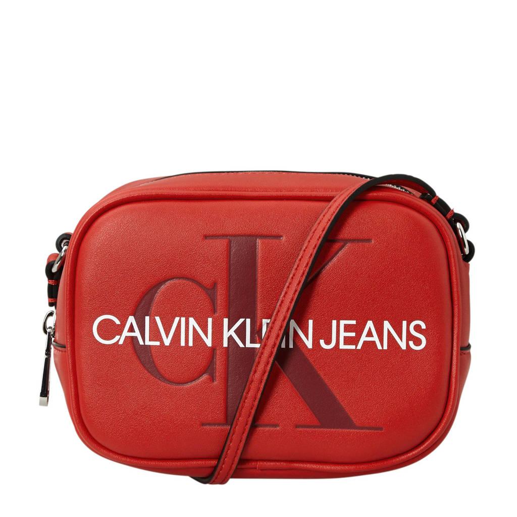 Calvin Klein Jeans   crossbody tas rood, Rood