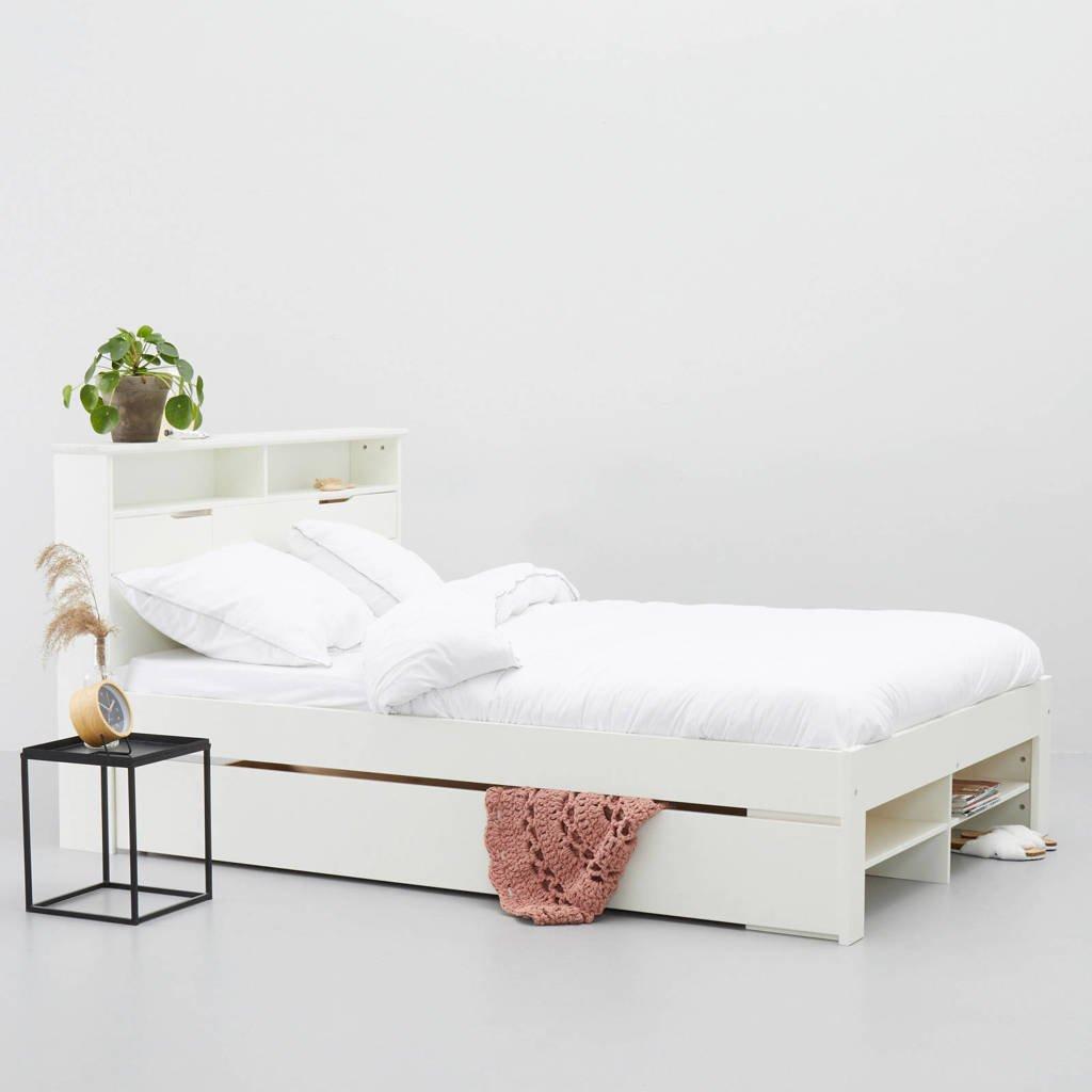 whkmp's own bed Nara met bedlade  (140x200 cm), Wit