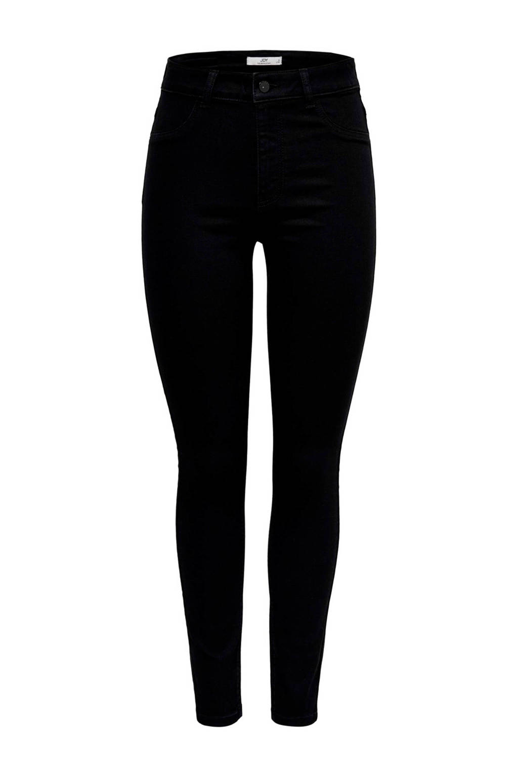 JACQUELINE DE YONG high waist skinny jeans, Zwart