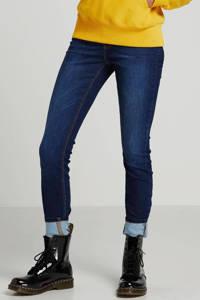 JACQUELINE DE YONG high waist skinny jegging JDYNIKKI dark blue denim, Dark denim