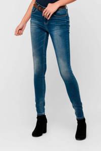 JACQUELINE DE YONG skinny jeans JDYCAROLA medium blue denim, Blauw