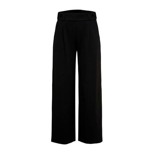 JACQUELINE DE YONG loose fit broek zwart