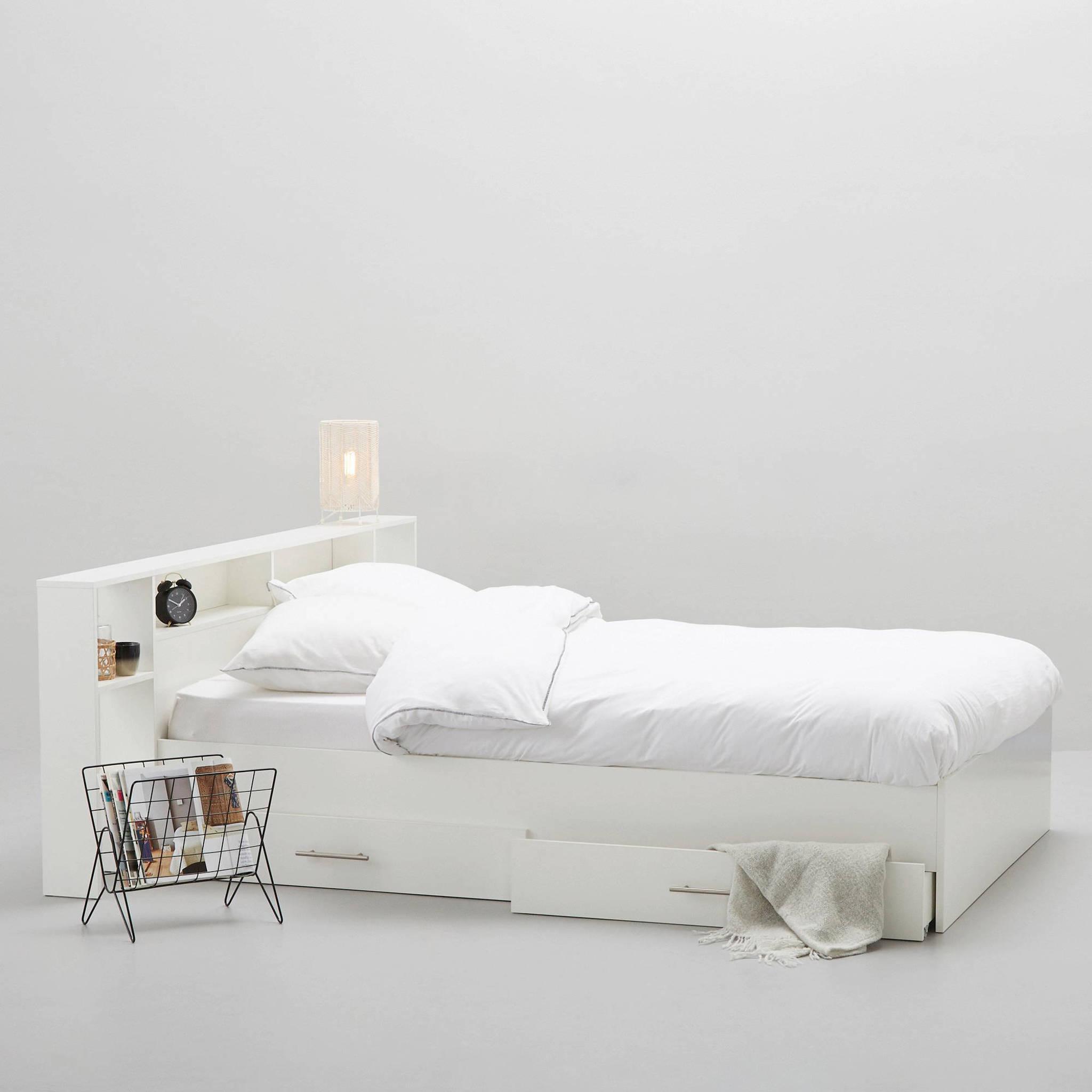 Tweepersoonsbed Met 4 Lades.Bed Fenna Met Bedlades 140x200 Cm
