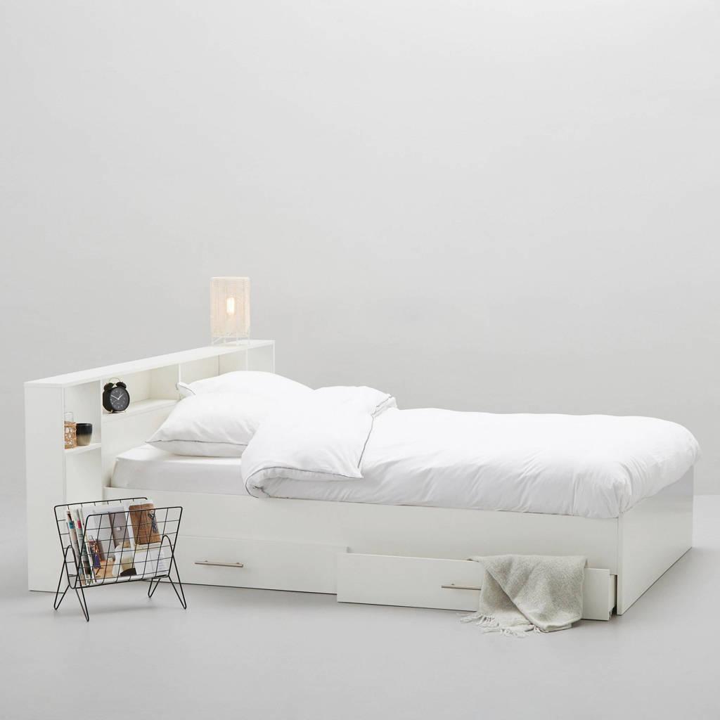 wehkamp bed Fenna met bedlades  (140x200 cm), Wit