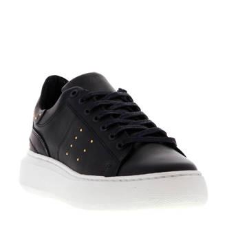 Ingeborg 18-B leren sneakers zwart